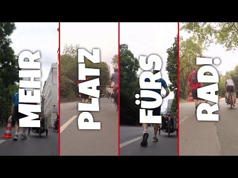 Der schnellste Pop-Up-Radweg der Welt! Frankfurt am Main, 28.06.2020 / Making Of