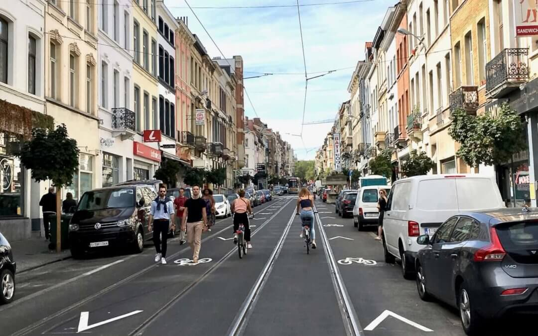 Car free Sunday in Brussels – soon in Frankfurt??