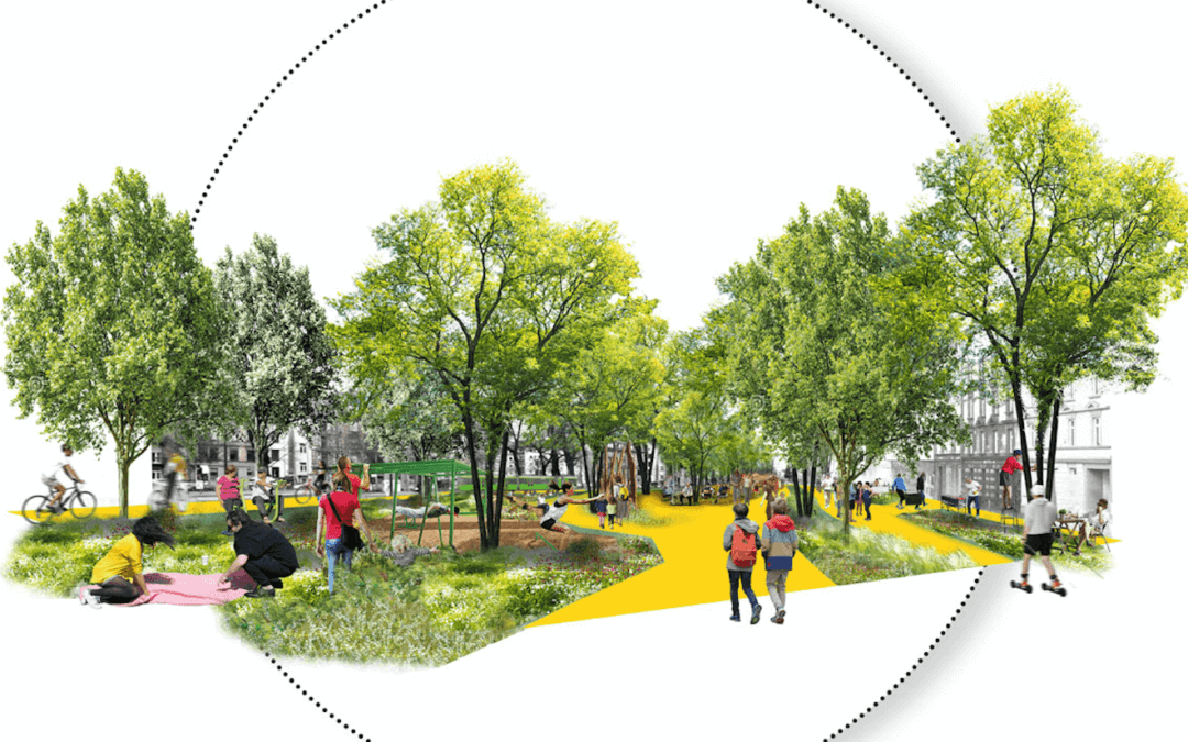 Streets as a living space – Future Visions for Frankfurt #02