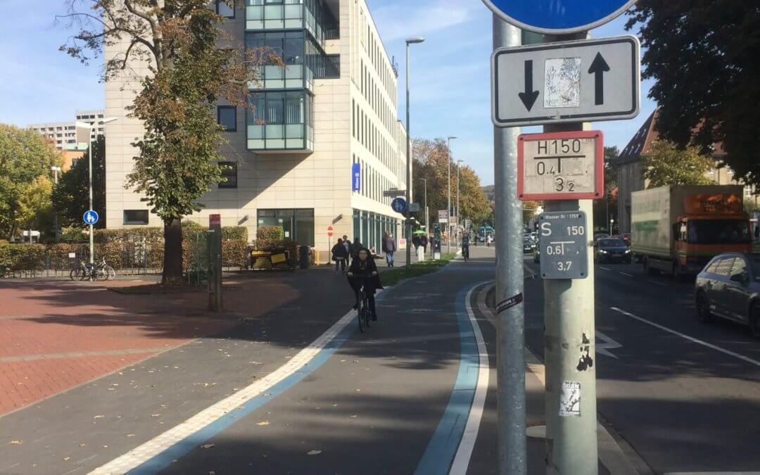 Radschnellwege in und um Frankfurt – Motivation aus Südniedersachsen