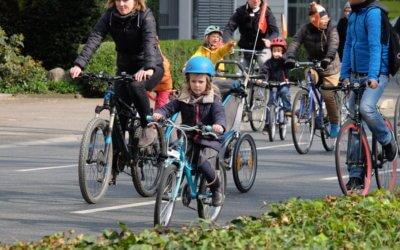 Die erste Frankfurter Kidical Mass: Auch die Jüngsten starten durch!
