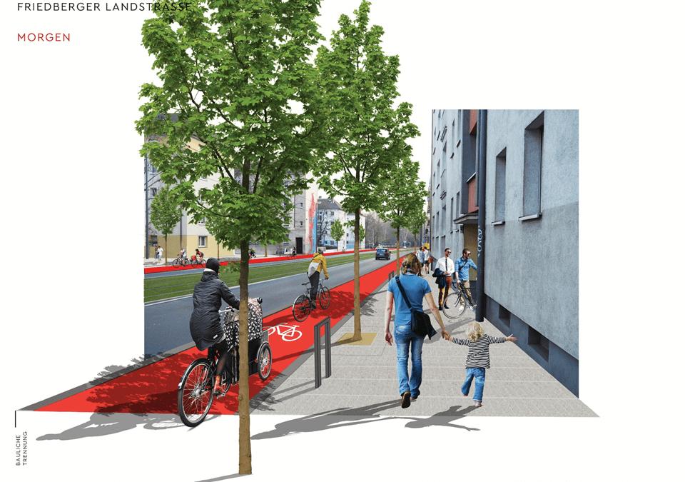Frankfurts Weg zur Fahrradstadt: Phase 1